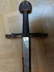Dekoration Schwert Mittelalter Wikinger verzierte