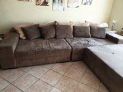 XXL Sofa Farbe braun