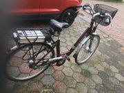 Neuwertiges Schönes E bike mit