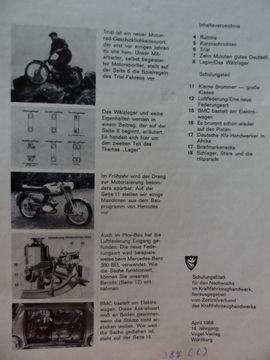 Oldtimer Youngtimer - KFZ Zeitschrift - Hercules Mofa: Kleinanzeigen aus Steuerwaldsmühle - Rubrik Fach- und Sachliteratur