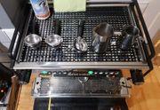 Rocket Espressomaschine und Kaffeemühle - Kommerzielle