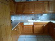 Alno Massivholz Küche Fichte komplett