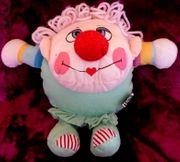 Werbefigur Clown Volksbank Raiffeisenbank original