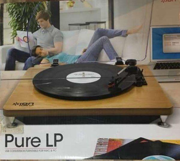 Schallplattenspiler mit MP3 Umwandeln