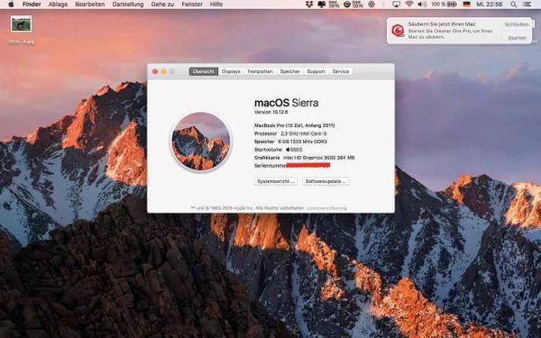 Apple MacBook Pro 33 8