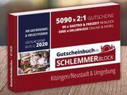 Gutscheinbuch Schlemmerblock Kitzingen Neustadt Umgebung