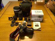 Canon 80D mit allem Schnickschnack