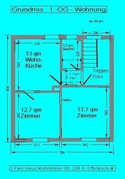 2 Zi - Wohnung 44 qm