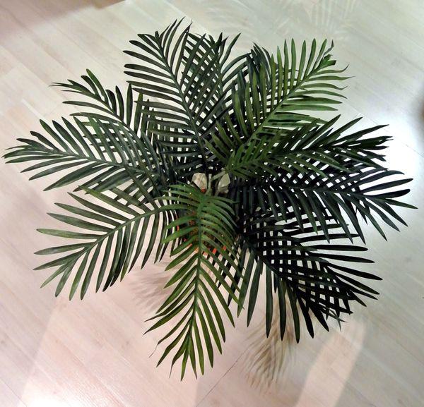 Kunst Palme in Tontopf 65cm