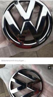 VW Emblem Zeichen Silber