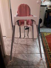 IKEA-Hochstuhl mit Polster