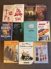 15 verschiedene Bücher
