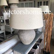 Stehlampe Stehleuchte Tischleuchte Beton antik