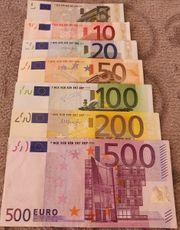 Euro Sammlungsauflösung