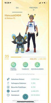 Pokémon Go Account 35