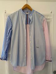 gestreiftes Tommy Hilfiger Hemd Bluse