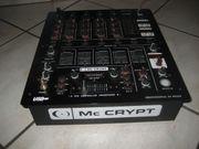 Mc Crypt DJ-500U USB DJ-Mixer