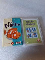 4 Kartenspiele verschiedene Quartett