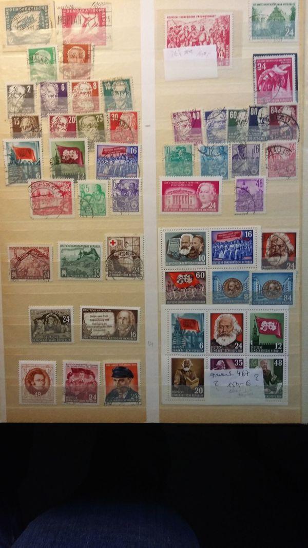 DDR Briefmarken