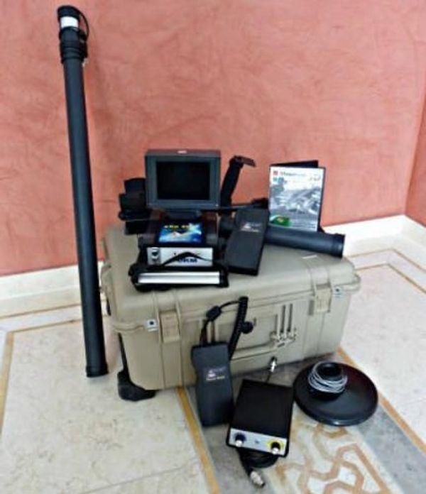 Okm Exp 4000 Gold Edition Metal Detector Metalldetektor 3d Image