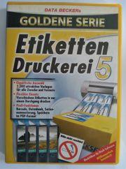 CD ROM - Etiketten Druckerei 5