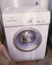 Waschmaschine Haier altes Modell