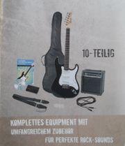 Gitarre Set E - Gitarre kpl