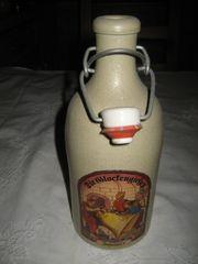 Steingut Bierflasche mit Bügelverschluss - Die