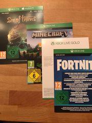 XBOX 1 Monat Gold Minecraft