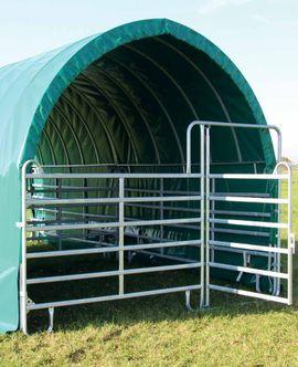 Pferdeboxen, Stellplätze - Panel Weidezelt Unterstand für Pferde