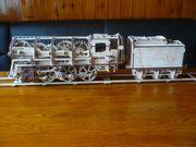 Holz Lokomotive UG460 mit Tender
