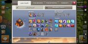 3 Clash of Clans Accounts