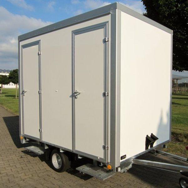 WC-Wagen Toilettenwagen Klowagen
