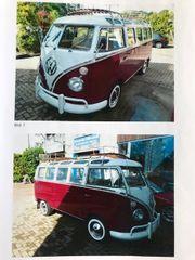 VW Bus Samba - Oldtimer