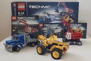 LEGO Technic Baustelle