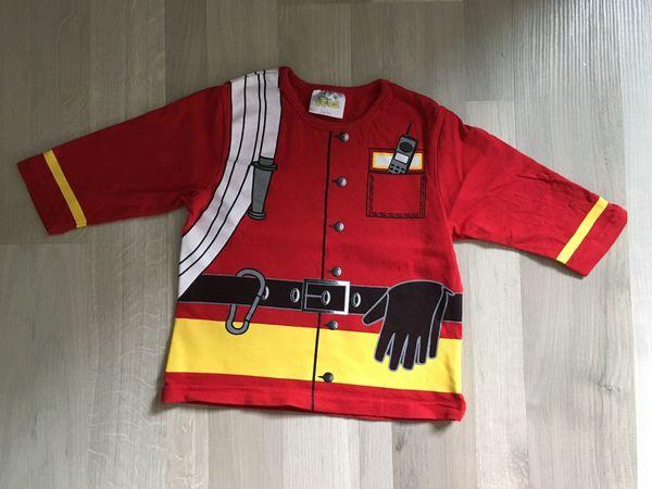 Toller Feuerwehr-Pulli Gr 74 80