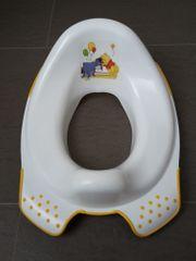 Winnie Pooh-Toilettensitz weiß