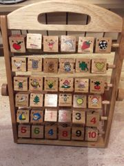 Lerntafel ABC Holzspielzeug