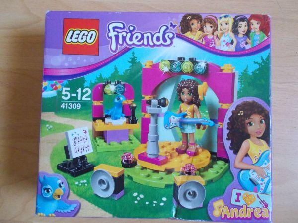 Lego Friends Andrea Musik Showbühne
