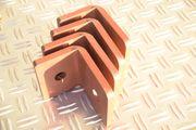 4 Stück Stahl Winkel Winkelverbinder
