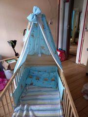 verkaufe babybett