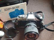 Spiegelreflexkamera Blitz Vintage Filter Kameratasche