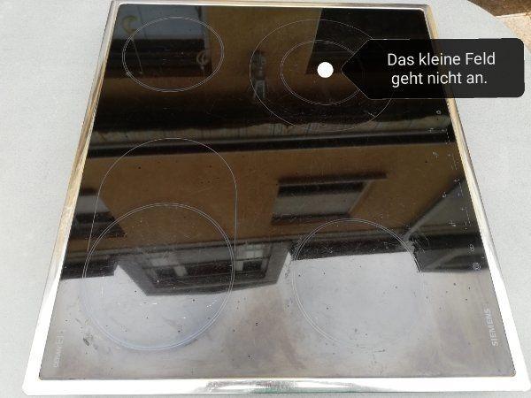 Marken-Kochplatte von Siemens autark Ceranfeld