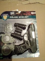 SWAT Polizei-Spielset mit Ton
