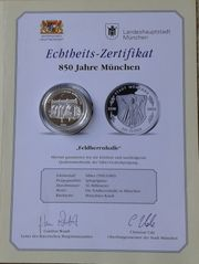3 Silber Gedenkmünzen