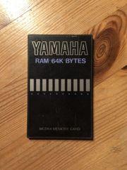 YAMAHA RAM Karte MDC64 Memory
