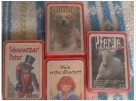 Kinder- und Jugendliteratur - Märchenbücher und Kinderliederplatte Trabis Quartettkarten