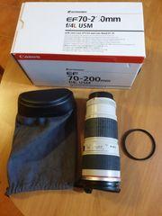 Canon EF 70 - 200 L