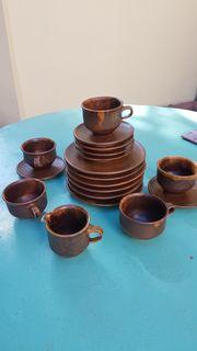 Geschirr aus dem Elsass Töpferhandwerk