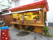 Marktbude Verkaufstand Weihnachtsmarkt Hütte